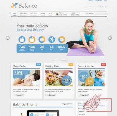 balance-medical-template-for-joomla